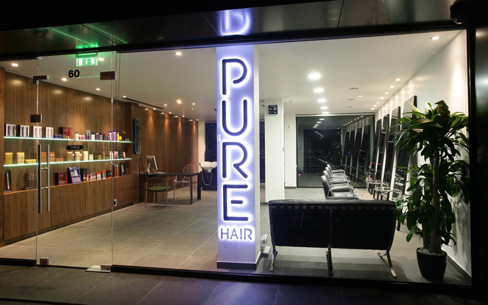 Gallery pure hair for Hair studio salon